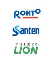 日本眼藥水三大品牌LOGO