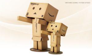 日本亞馬遜公仔:紙箱人阿愣
