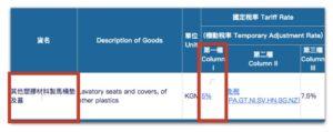 CPT_關港貿單一窗口_國定稅率_第一欄
