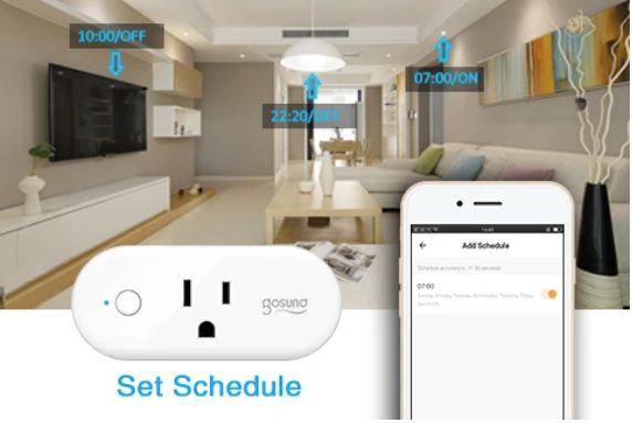 日本亞馬遜必買-智能家電 Gosund Smart Plug 可搭配智慧型手機APP操作電器