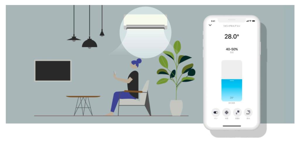 日本亞馬遜必買-智能家電 Nature Remo Mini 可以使用智慧型手機操作電器