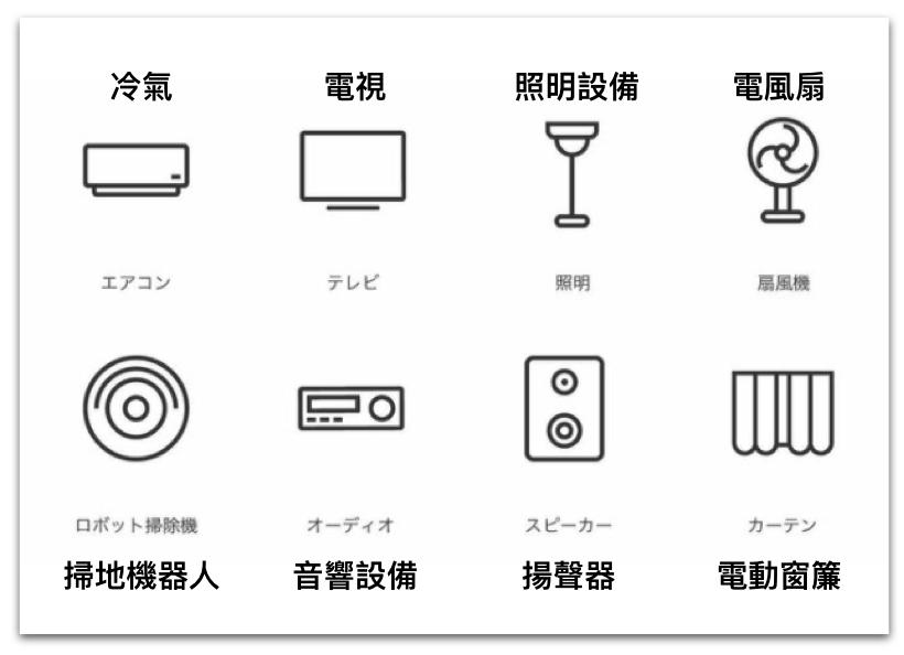 日本亞馬遜必買-智能家電 Nature Remo Mini 可對應的電器用品