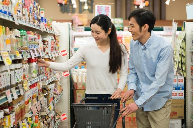 琳瑯滿目的各種日本食品