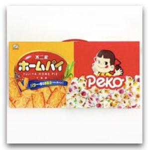台灣樂天 配菓配菓 PECOPECO 不二家 PEKO千層派牛奶糖雙喜禮盒