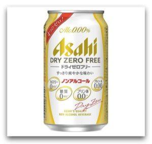 Asahi朝日 DRY ZERO FREE 無酒精飲料
