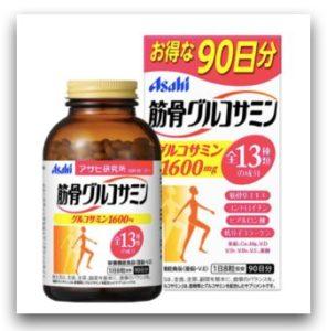 日本保健食品-Asahi 朝日 軟骨素 鈣 葡萄糖胺錠_momo