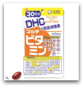 DHC 綜合維他命 30日份_momo