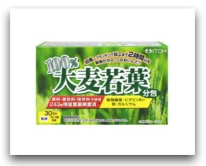 ITOH 100%大麥若葉酵素青汁