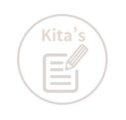 Kita's Notes 浮水印 LOGO 無框