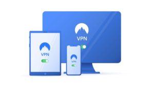 在不同裝置均能使用同一帳號的VPN 示意圖