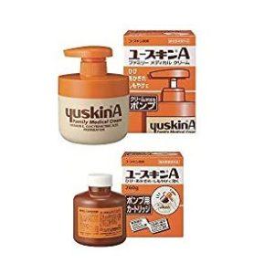 悠斯晶A乳霜 yuskin A (ユースキンA) 壓瓶裝_補充瓶(260g)