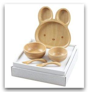 米飛兔 北歐櫸木兒童餐具組