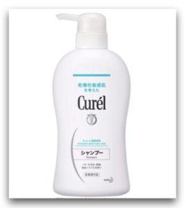 Curél 溫和潔淨洗髮精