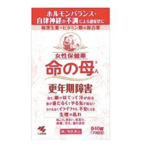日本藥妝必買_日本女性用藥-命之母-女性更年期保健藥