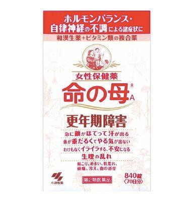 日本女性用藥-命之母-女性更年期保健藥