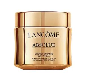 Lancome Absolue Revitalizing & Brightening Soft Cream 絕對完美黃金玫瑰修護乳霜