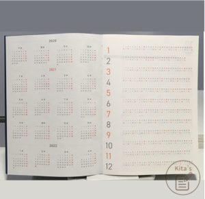 2021年手帳開箱 手帳內頁 年度計畫