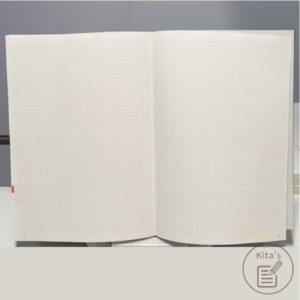 2021年手帳開箱 手帳內頁 方格頁
