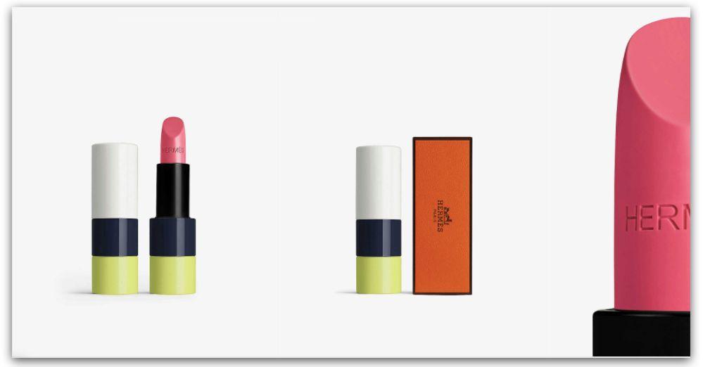 Hermes 愛馬仕在2020年推出首波美妝產品:口紅