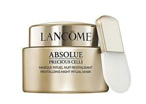Lancome Absolue Precious Cells Night Ritual Mask 絕對完美玫瑰乳霜面膜