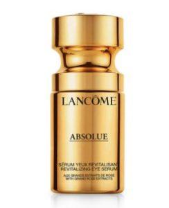 Lancome Absolue Revitalizing Eye Serum 絕對完美黃金玫瑰修護眼部活粹