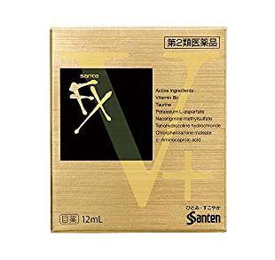 參天 沁涼眼藥水 Sante FX V Plus(サンテFXVプラス)