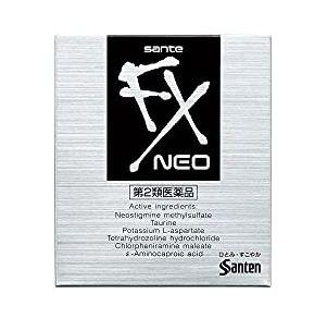 參天 清涼眼藥水 Sante FX Neo(サンテFXネオ)