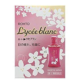 樂敦 Lycee blanc櫻花眼藥水(ロートリセブラン)