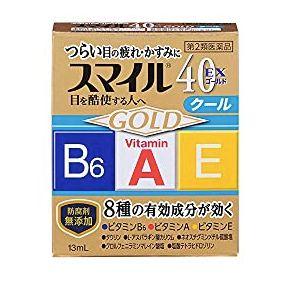 獅王 Smile40 EX Gold 眼薬水(スマイル40EX ゴールド)