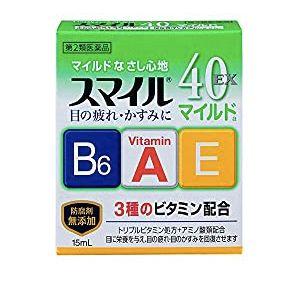 獅王 Smile40 EX Mild a眼薬水(スマイル40EXマイルドa)
