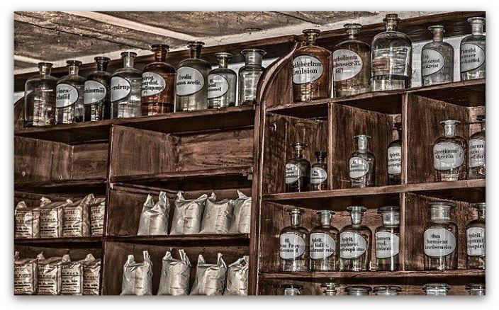 Kiehl's 契爾氏 在1851年從專業藥房起家(示意圖)