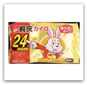 日本桐灰化學 小白兔暖暖包 持續發熱24小時
