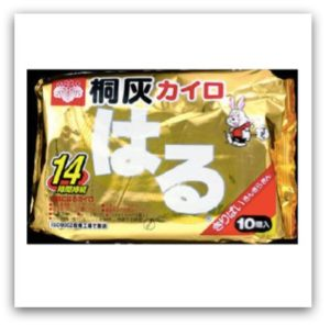 日本桐灰化學 小白兔貼式暖暖包 持續發熱14小時