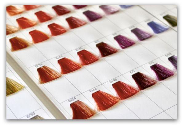 一次性染髮劑通常能表現鮮豔的色彩