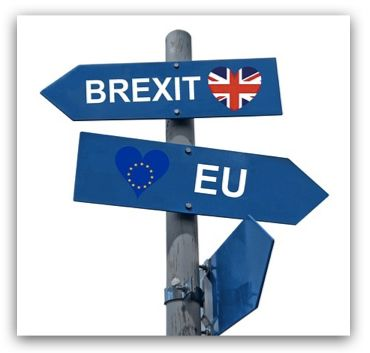 英國脫歐造成跨國貨物集運相關的稅務流程改變(示意圖)