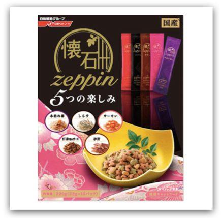 日本寵物保健食品、零食 - 日清 Zeppin 懷石頂級貓咪餅乾