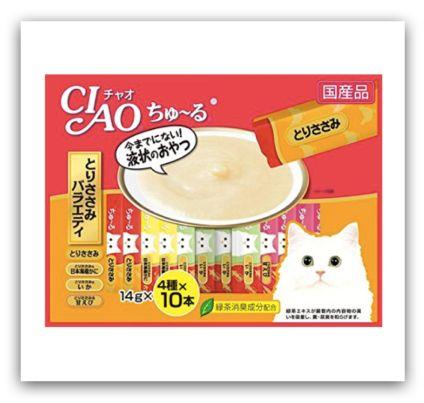日本寵物保健食品、零食 - CIAO 啾嚕肉泥(貓用)