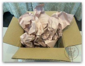 DOKODEMO 多和夢 評價_收件與開箱_4 開箱內有防碰撞的牛皮紙