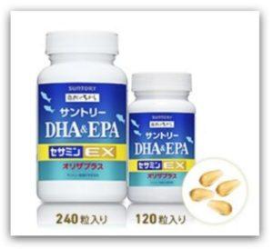 日本保健食品 SUNTORY 三得利 魚油 DHA