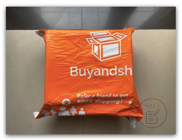 【購物實測 折扣碼】iHerb - 收到包裹,外有 Buyandship 塑膠包裝