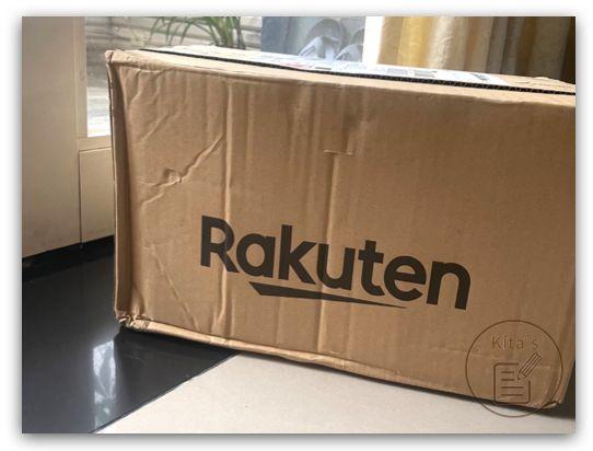 收到來自日本樂天的跨國網購包裹,好感人!