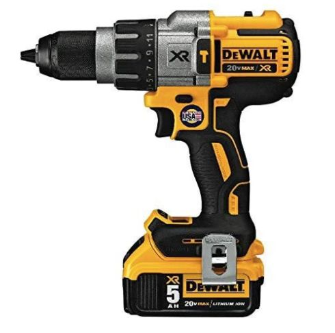 跨國網購電動工具-【DEWALT 得偉】20V MAX 18V無碳刷強力震動電鑽調扭起子機DEWALT 20V MAX XR Hammer Drill Kit, Brushless, 3-Speed, Cordless (DCD996P2)